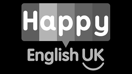 happy english logo