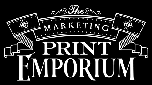 the marketing print emporium logo