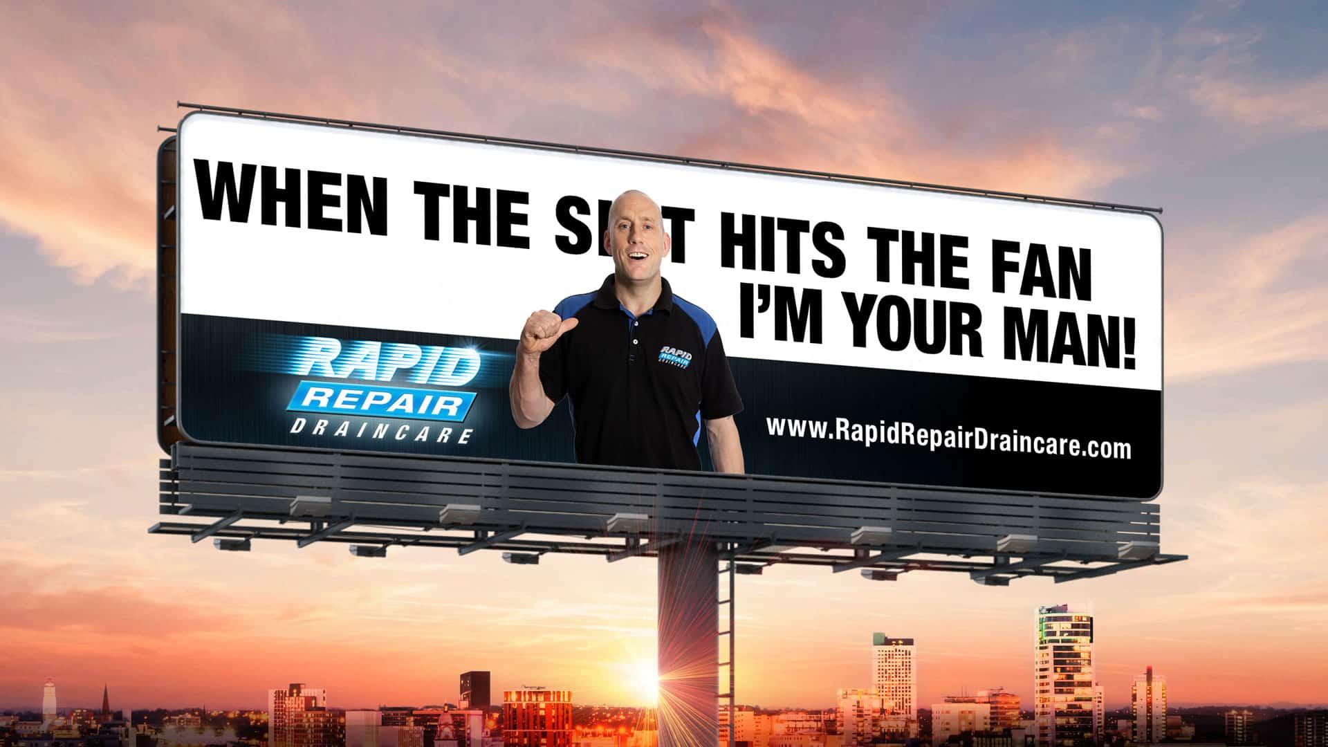 Rapid Repair Drain Care header image